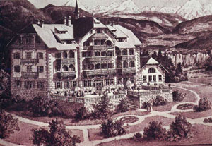 Hotel Salern im alpinen Stil / Hotel Salern in tipico stile alpino